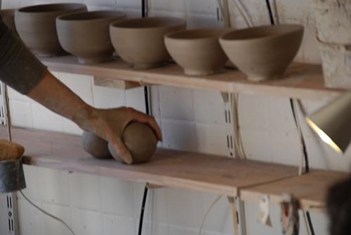 Stages de tournage céramique à Paris, photos 2015